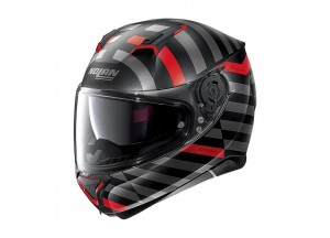 Helmet Full-Face Nolan N87 Shockwave N-COM 104 Flat Black