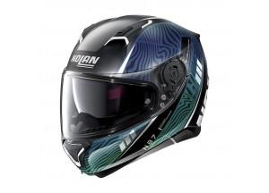 Helmet Full-Face Nolan N87 Sioux N-COM 107 Flat Black