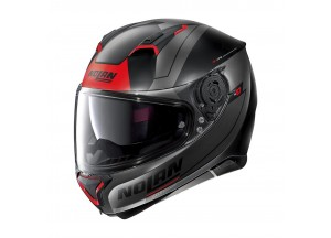 Helmet Full-Face Nolan N87 Skilled N-COM 97 Flat Black