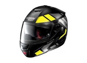 Helmet Flip-Up Full-Face Nolan N90.2 27 Euclid Flat Black