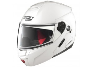 Helmet Flip-Up Full-Face Nolan N90 2 Classic 5 Metal White