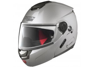 Helmet Flip-Up Full-Face Nolan N90 2 Special 11 Salt Silver