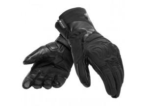 Motorcycle Gloves Dainese NEBULA LADY GORE-TEX Black