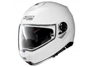 Helmet Flip-Up Full-Face Nolan N100.5 Classic 5 Metal White