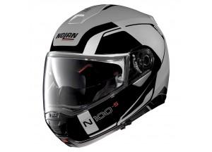 Helmet Flip-Up Full-Face Nolan N100.5 Consistency 21 Flat Silver