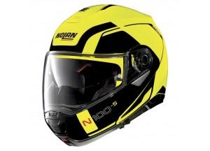 Helmet Flip-Up Full-Face Nolan N100.5 Consistency 26 Led Yellow