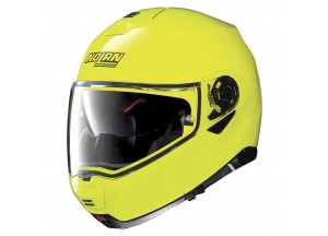 Helmet Flip-Up Full-Face Nolan N100.5 Hi-Visibility 22 Yellow Fluo
