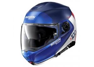 Helmet Flip-Up Full-Face Nolan N100.5 PLUS Distinctive 29 Imperator Matt Blue