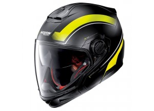 Helmet Full-Face Crossover Nolan N40-5 GT Resolute 23 Matt Black Yellow