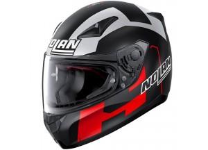 Helmet Full-Face Nolan N60.5 Gemini Replica 56 D. Petrucci Test Matt-Black