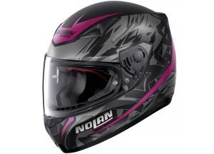 Helmet Full-Face Nolan N60.5 Metropolis 76 Matt-Black Violet