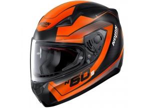 Helmet Full-Face Nolan N60.5 Veles 69 Matt-Black Orange