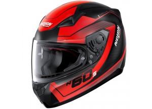 Helmet Full-Face Nolan N60.5 Veles 67 Matt-Black Red