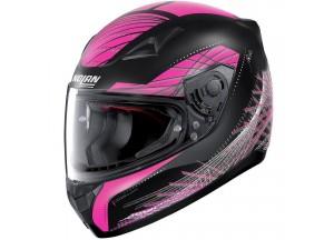 Helmet Full-Face Nolan N60.5 Mikado 65 Matt-Black Violet