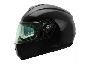 Helmet Flip-Up Full-Face Nos NS-8 Glossy Black