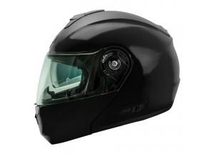 Helmet Flip-Up Full-Face Nos NS-8 Glossy Black