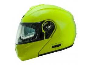 Helmet Flip-Up Full-Face Nos NS-8 Fluor Yellow
