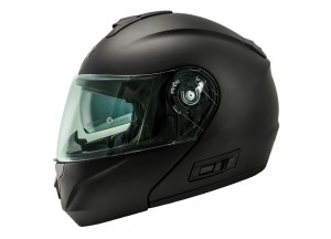 Helmet Flip-Up Full-Face Nos NS-8 Matt Titanium
