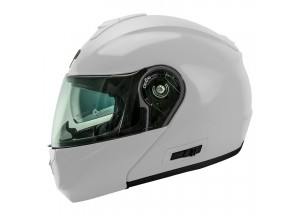 Helmet Flip-Up Full-Face Nos NS-8 Glossy White
