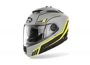 Helmet Flip-Up Full-Face Airoh Phantom S Beat Matt Yellow