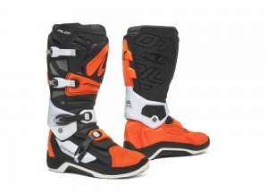 Boots Forma Off-Road Motocross MX Pilot Black Orange White
