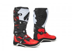 Boots Forma Off-Road Motocross MX Pilot Black Red White