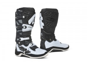 Boots Forma Off-Road Motocross MX Pilot Black White