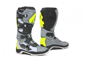Boots Forma Off-Road Motocross MX Pilot Grey White Yellow Fluo