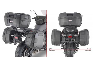 PL2148 - Givi Specific pannier MONOKEY® or RETRO FIT Yamaha Tracer 700 (2020)
