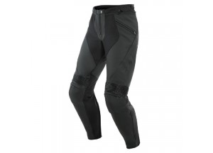 Leather Pants Dainese Pony 3 Black-Matt