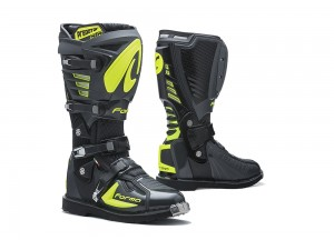 Boots Forma Off-Road Motocross MX Predator 2.0 Anthracite Yellow Fluo