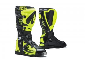 Boots Forma Off-Road Motocross MX Predator 2.0 Black Yellow Fluo