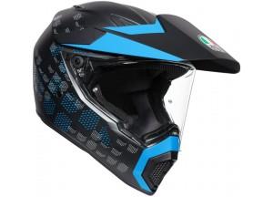 Helmet Full-Face Agv AX 9 Antartica Matt Black
