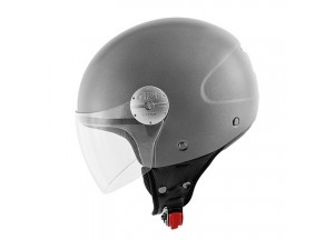 Helmet Jet Givi 10.7 Mini-J Solid Colour Matt Titanium
