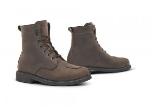 Shoes Moto Forma Rave Dry Leather Waterproof Urban Brown