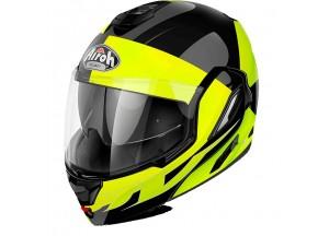 Helmet Flip-Up Full-Face Airoh Rev Fusion Yellow Gloss