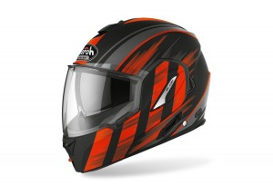 Helmet Flip-Up Full-Face Airoh Rev 19 Ikon Matt Orange