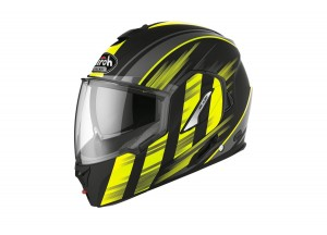 Helmet Flip-Up Full-Face Airoh Rev 19 Ikon Matt Yellow