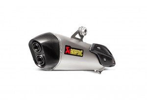 S-B6SO7-HZAAT - Muffler Exhaust Akrapovic Slip-On Titanium BMW C 650 Sport 16
