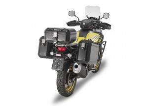DLM36BPACK2 - Givi Pair of 36 ltr aluminium cases, matt black painted