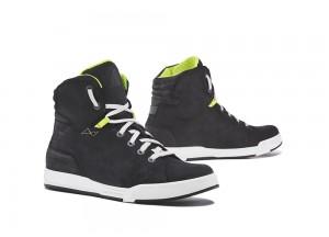 Shoes Moto Forma Urban Leather Waterproof Swift Dry Black White