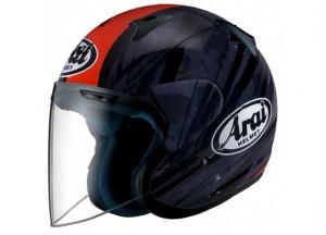 Helmet Jet Arai SZ-F Blast Red