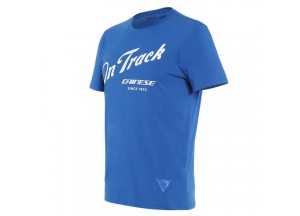 Dainese T-SHIRT PADDOCK TRACK Sky-diver/White