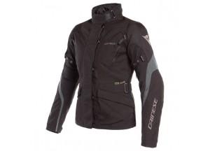 Waterproof Jacket Dainese Tempest 2 D-Dry Lady Black Black Ebony