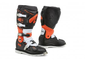 Boots Forma Off-Road Motocross MX Terrain TX Black Orange White