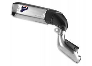 D007TOA - Exhaust Muffler Alto Termignoni Titanium Ducati Hypermotard 821