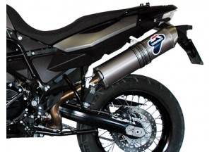 BW01080INO - Exhaust Muffler Termignoni OVAL Carbon Look BMW F 800/650 GS