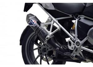 BW12080CV - Exhaust Muffler Termignoni RELEVANCE S. Steel Carbon BMW R 1200 GS
