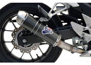 H116080INVI - Muffler Termignoni RELEVANCE Carbon Look HONDA CB 500 CBR 500