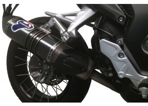 H125080INV - Exhaust Muffler Termignoni RELEVANCE Carbon Look HONDA CROSSTOURER